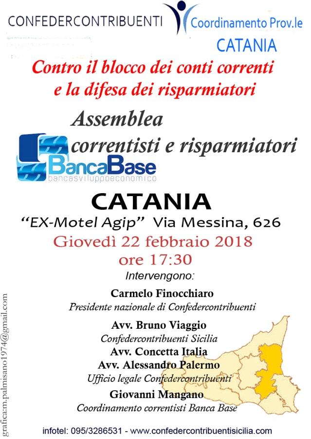 assemblea correntisti catania