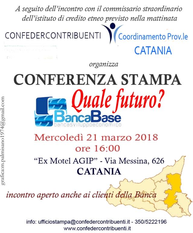 conferenza stampa banca base